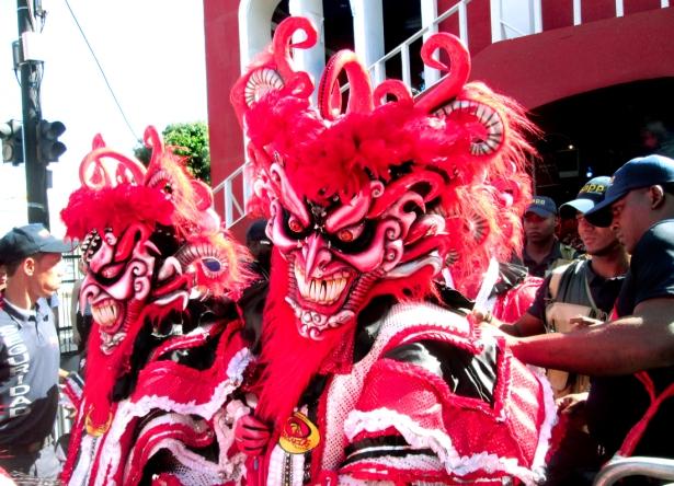 Los Diablos Cajuelos. Photo by José Germosén