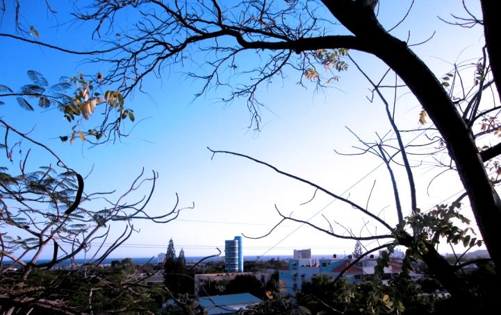 Dominican Winter. The view of the El Portal neighborhood from Avenida Mirador Sur. Photo by José Germosen